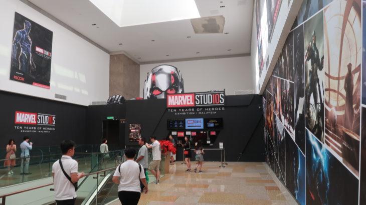 【レポート】マーベル・アベンジャーズ展 in マレーシア【海外のマーベル展はスケールが違う!】その1