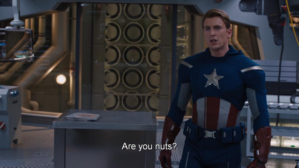 キャプテン・アメリカ 正気か?