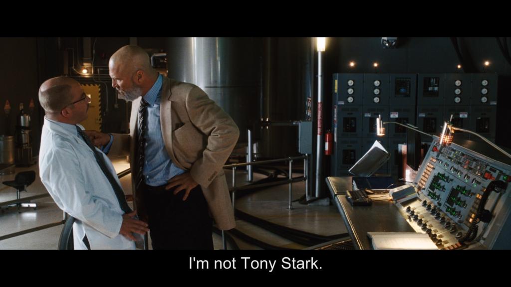 私はトニー・スタークじゃない