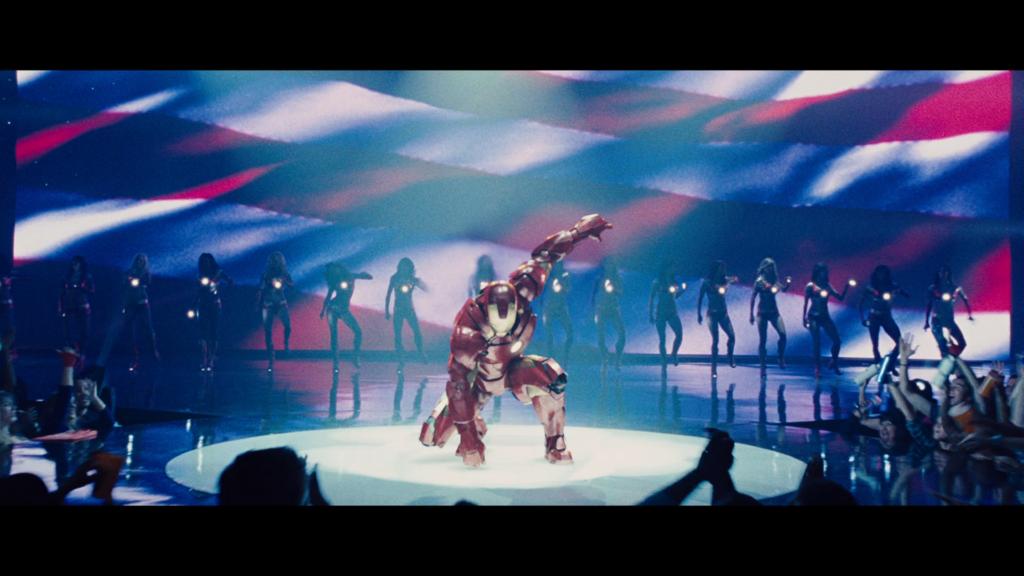 アイアンマン2 スタークエキスポ ヒーロー着地