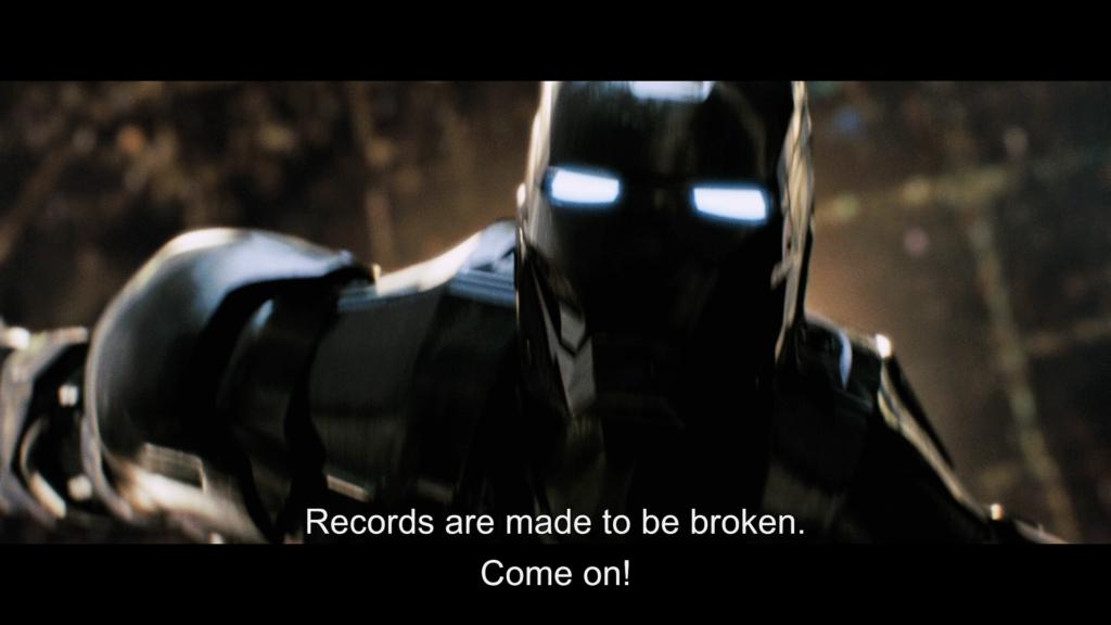 アイアンマン マーク2 トニー・スターク 記録は破るためにある