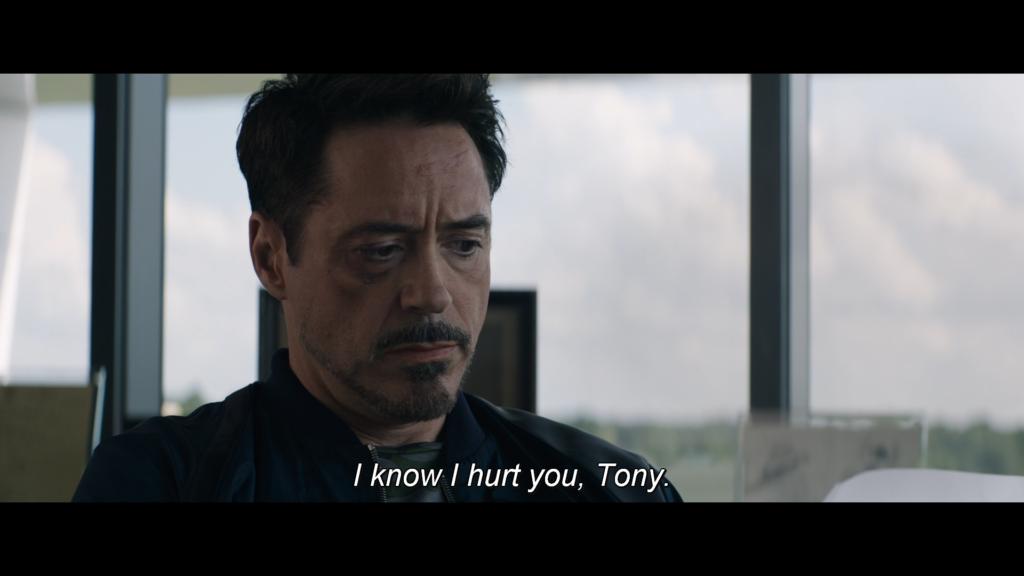 アイアンマン トニー キャプテン・アメリカ