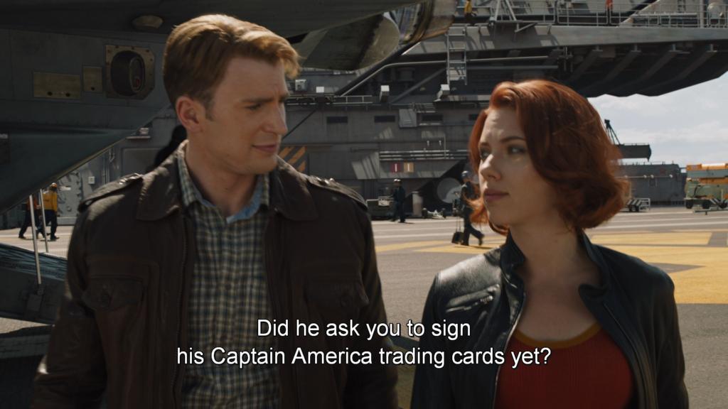 キャプテン・アメリカ ブラック・ウィドウ アベンジャーズ