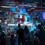 【海外ディズニー】アベンジャーズ・キャンパスの『ウェブ・スリンガー:スパイダーマン・アドベンチャー』【スパイダーマンのアトラクション】