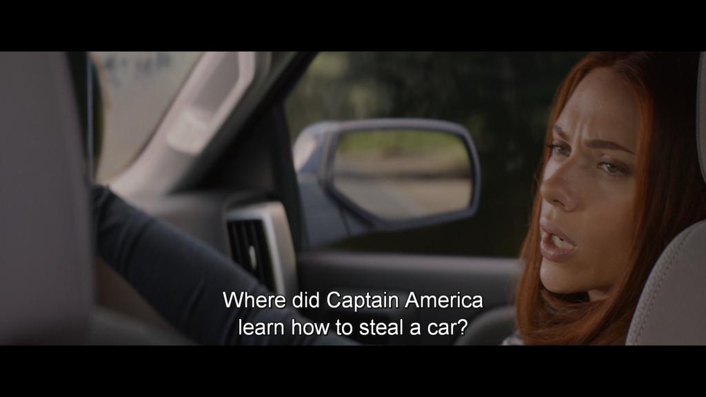 ブラック・ウィドウ キャプテン・アメリカ ウィンター・ソルジャー