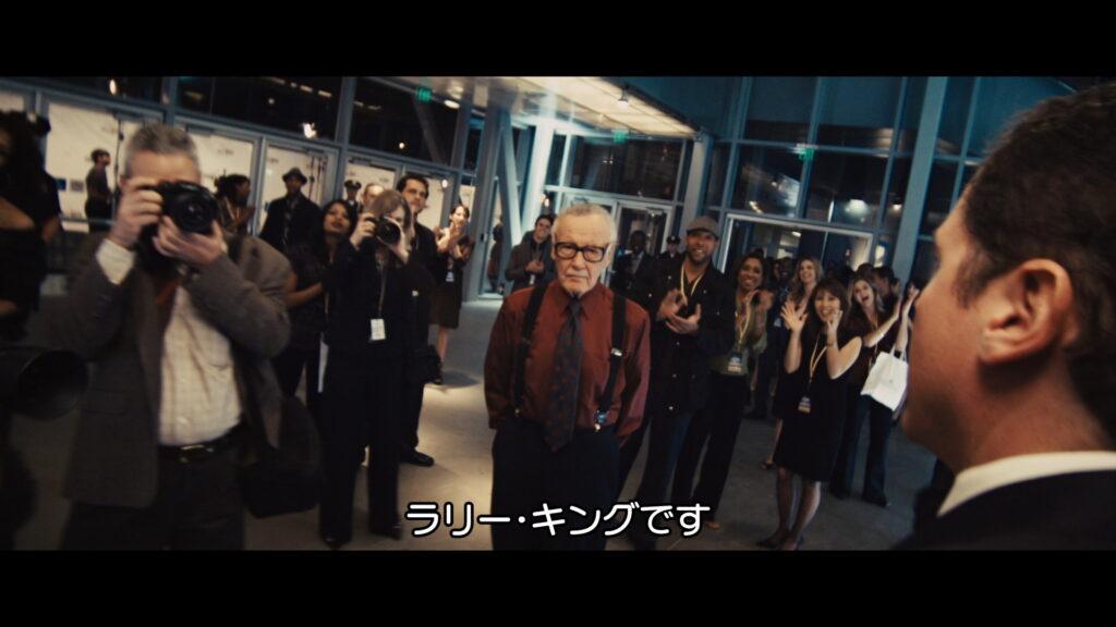 アイアンマン2 マーベル アベンジャーズ スタン・リー ウォッチャー・インフォーマント
